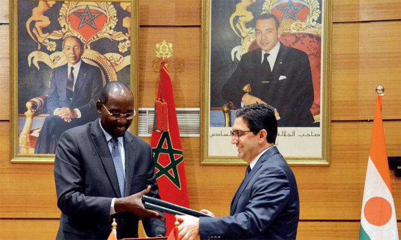 Le Niger salue l'attachement de S.M. le Roi à la promotion du dialogue et de la concertation comme moyens privilégiés pour le règlement des conflits en Afrique