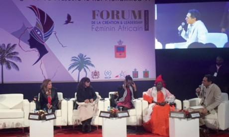 Clôture du premier Forum de la création et du leadership féminin africain
