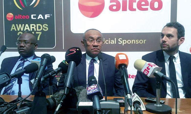 La CAF supprime le titre de joueur local de l'année et d'arbitre de l'année