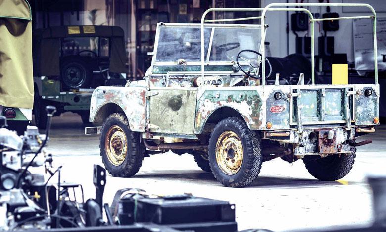Land Rover restaure l'un de ses trois premiers véhicules