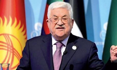 Le Président Abbas condamne le vote du Likoud relatif  à l'annexion des colonies de la Cisjordanie occupée