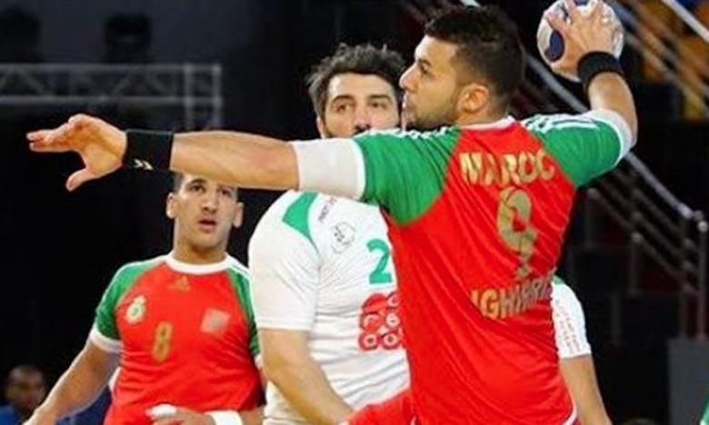 La sélection marocaine de hand-ball affrontera le Gabon en quarts de finale