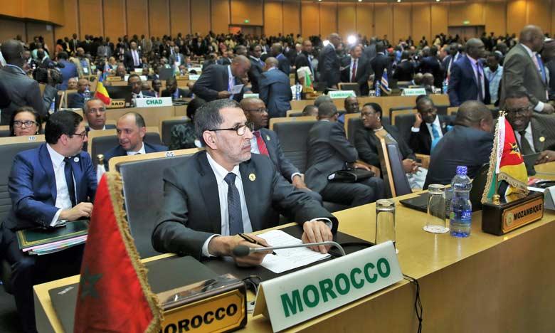 Fort de son expertise et de son aura régionale, le Maroc participe  à Addis-Abeba au 30e Sommet de l'Union africaine