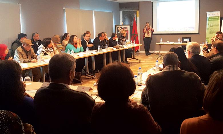 Dans l'objectif de favoriser la corrélation entre les différents acteurs sociaux travaillant auprès des populations vulnérables, Handicap International a organisé une rencontre d'échange avec les différents acteurs sociaux.