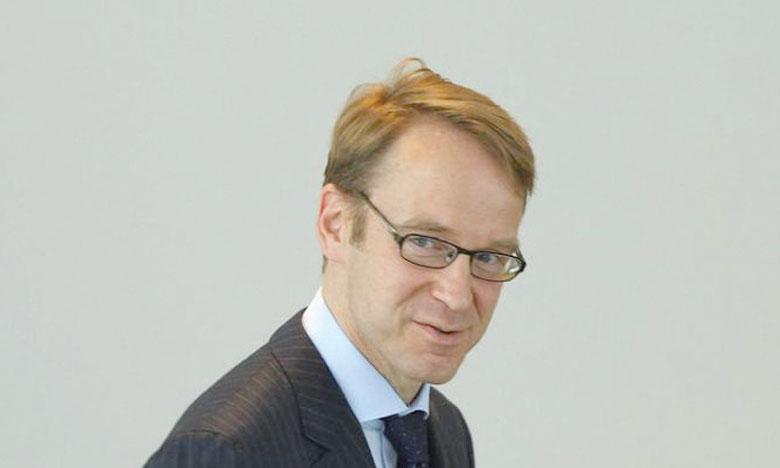 Le président de la Bundesbank voudrait une date précise pour la fin du QE