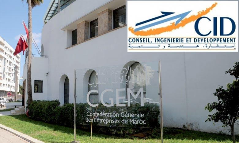 L'octroi du Label Responsabilité sociétale des entreprises (RSE) de la CGEM vient couronner les efforts du cabinet CID, société d'ingénierie pluridisciplinaire, en matière, de responsabilité sociétale de l'entreprise. Ph : DR
