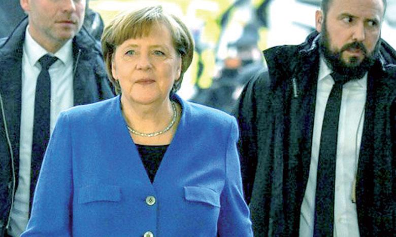 Angela Merkel parvient à un accord  de gouvernement