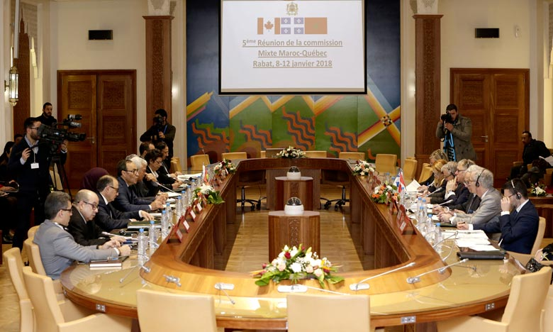 Le président de l'Assemblée nationale Jacques Chagnon a fait savoir que le gouvernement québécois serait prêt à échanger avec le gouvernement du Maroc sur les expériences réussies dans la protection de l'environnement et le développement durable. Ph : MAP
