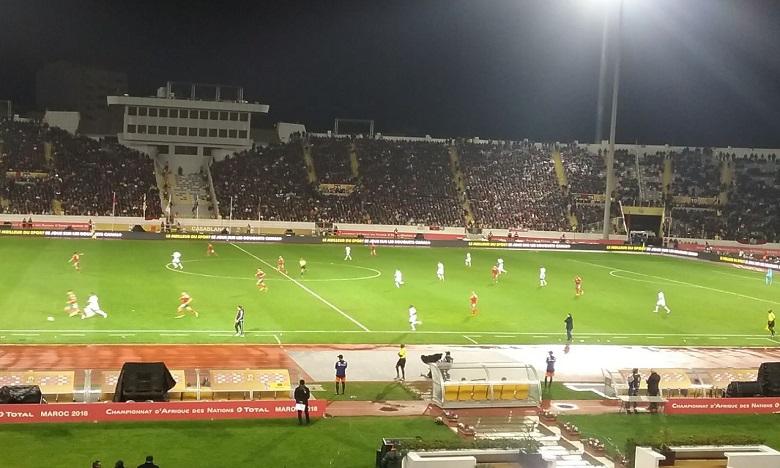 Le public a répondu présent au match d'ouverture Maroc-Mauritanie