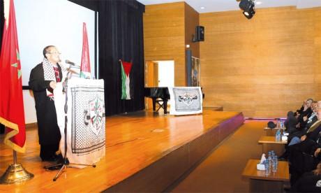 Rencontre en commémoration du 53e anniversaire de la révolution palestinienne