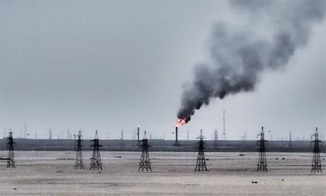Le pic de méthane dû à l'exploitation d'énergies fossiles