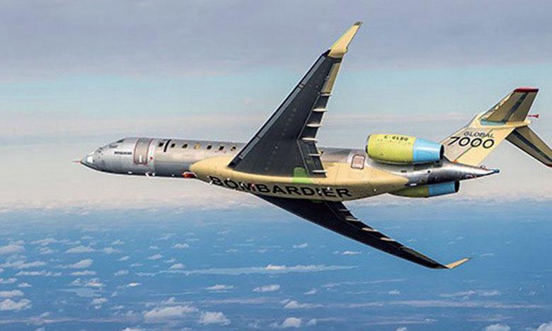 La maquette de l'avion Global 7000 demeurera au terminal pour un peu moins d'un mois, offrant aux visiteurs une rare occasion de prendre rendez-vous pour une visite privée spéciale.