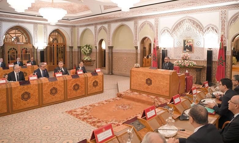Sa Majesté le Roi Mohammed VI préside à Casablanca un Conseil des ministres