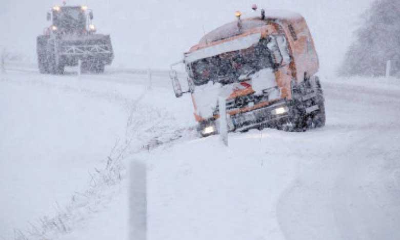 11 morts dans le nord de l'Europe  et chaos dans les transports