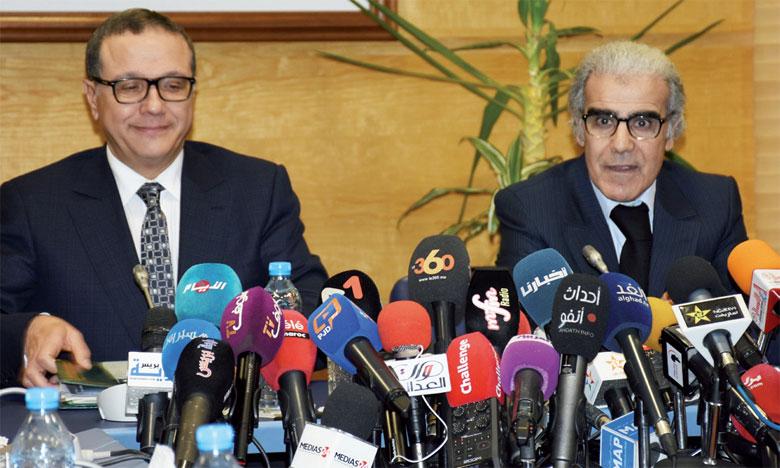Boussaïd et Jouahri en croisade contre  les fausses idées sur le régime flexible