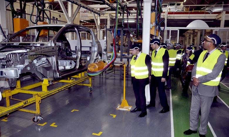 Les usines de Tanger et Casablanca maintiennent une cadence élevée grâce à une troisième équipe de production dans chacun des sites. Ph : MAP