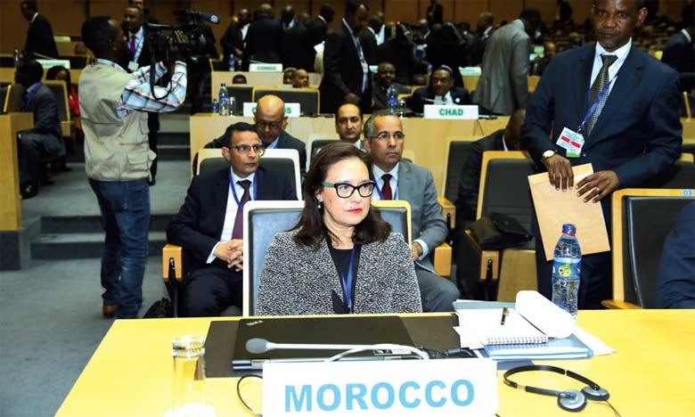 Le Maroc prend part aux travaux de la 32e  session ordinaire du Conseil exécutif