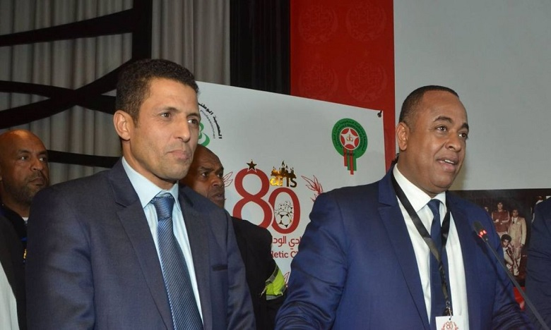 Le président Saïd Naciri a remercié son coach Houcine Ammouta, dans les deux sens du terme.