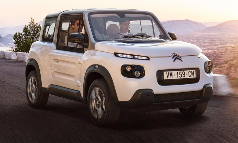La nouvelle berlinette électrique polyvalente de Citroën