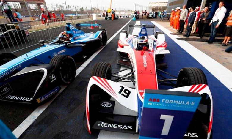 Felix Rosenqvist a signé la pole position de l'ePrix de Marrakech. Le pilote suédois a pris le meilleur sur Sam Bird et Sébastien Buemi pour décrocher la 3e victoire de sa jeune carrière en Formule E. Ph : DR
