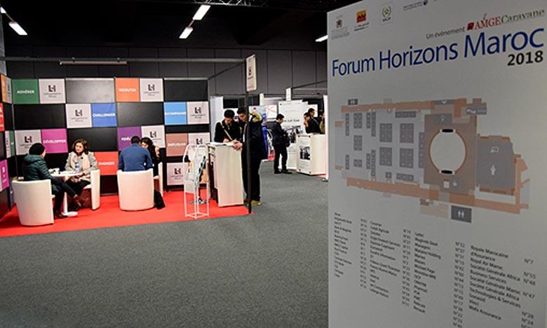Le Forum Horizons Maroc est une opportunité pour les entreprises marocaines et internationales implantées au Maroc de comprendre la richesse de vos compétences et de mesurer vos ambitions. Ph : MAP