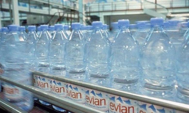 Des bouteilles 100% recyclées  pour Evian en 2025