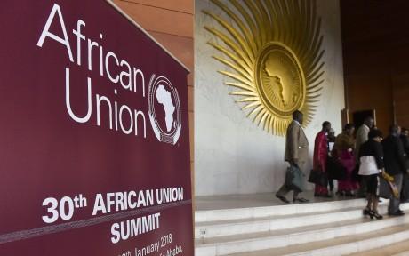 Ouverture du 30e Sommet de l'Union africaine avec la participation du Maroc