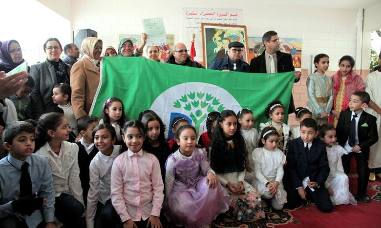 L'école «Abdelmoumen» de Rabat labellisée «Pavillon Vert»