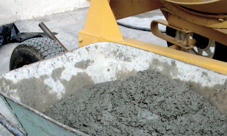 Les ventes du ciment ont baissé de 2,5% à fin 2017