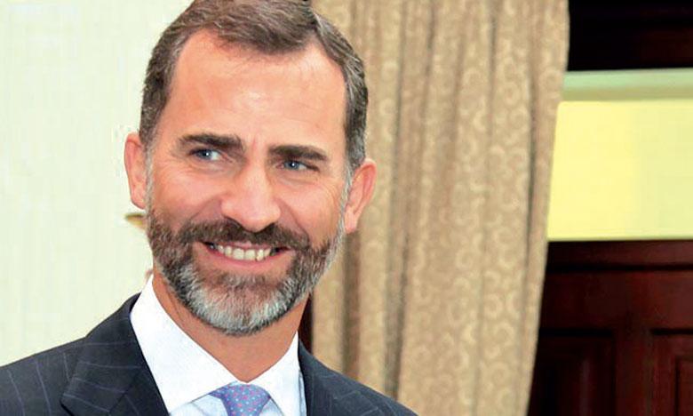 S.M. le Roi félicite le Roi Felipe VI d'Espagne à l'occasion de son anniversaire