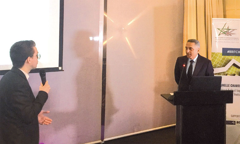 Moulay Hafid Elalamy (au centre) a brossé un tableau reluisant du positionnement du Maroc sur l'échiquier international.