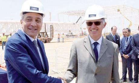 PSA dépasse 600 millions d'euros d'achat de pièces marocaines