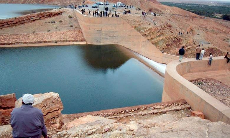 Barrage Hassan Addakhil : un taux de remplissage de 23,40%
