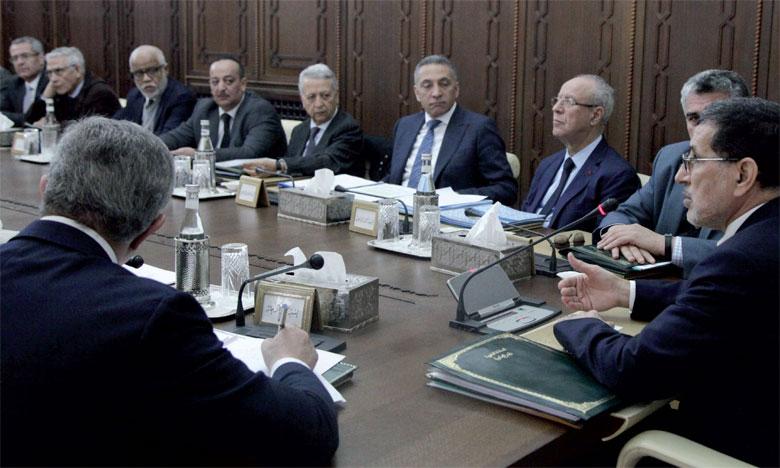 Le Conseil de gouvernement réuni hier a été présidé par Saâd Eddine El Othmani.