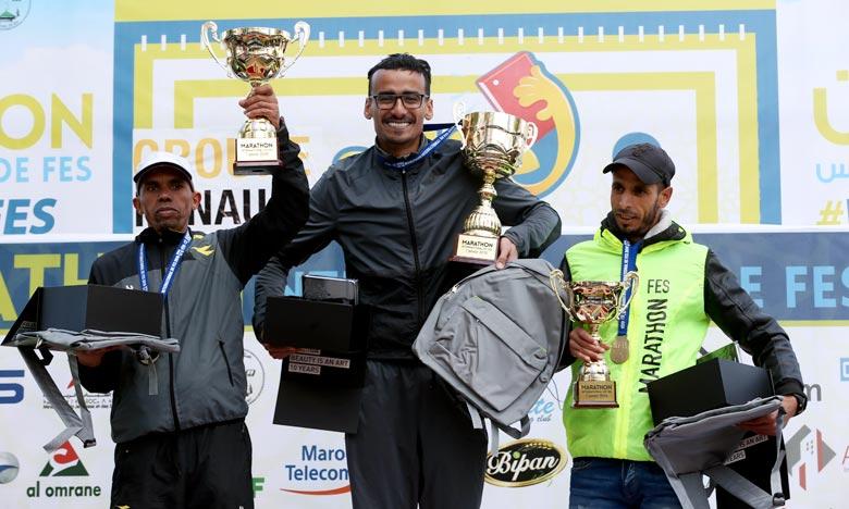 Khalil Lemsiyeh remporte le 1er marathon international de Fès