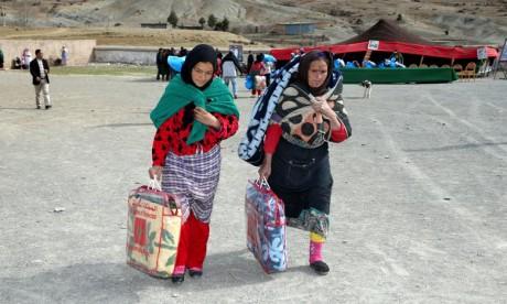 Distribution d'aides à 1.638 familles en situation difficile à Azilal