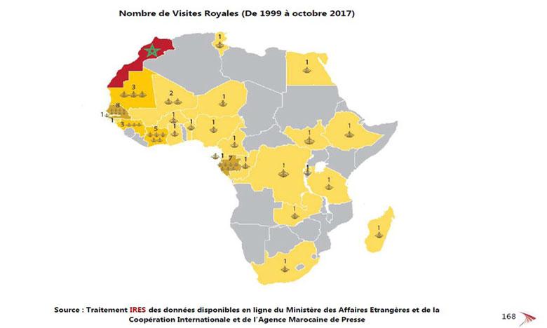 L'Institut Royal des études stratégiques publie  un «Atlas cartographique de l'Afrique»