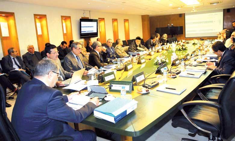 Réunion de la 4e session  du conseil d'administration de la Caisse marocaine  des retraites