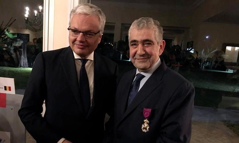 Driss El Yazami fait «Officier de l'Ordre de Léopold»