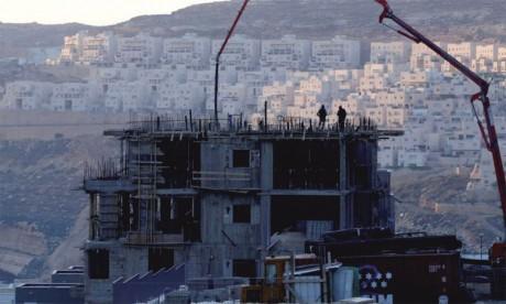 Israël approuve la construction de 1.122 nouveaux logements de colons en Cisjordanie