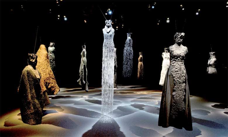 Les créations de Noureddine Amir au Musée Yves Saint Laurent Marrakech