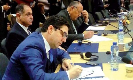 Nasser Bourita souligne l'action inlassable du Maroc pour une solution juste et durable du conflit israélo-palestinien dans le cadre de la légalité internationale
