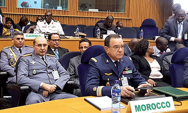 Le Maroc participe à Addis-Abeba à la 13e réunion ordinaire des chefs d'État-major et des chefs  de services de sûreté et de sécurité africains