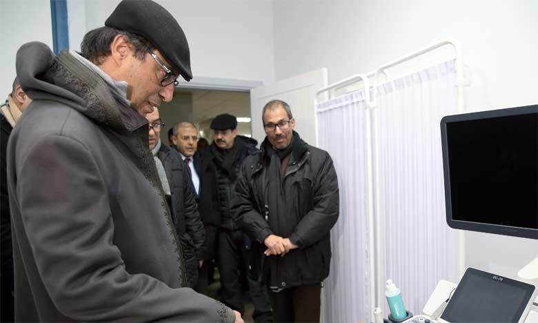 Abdelkader Amara visite le centre  hospitalier provincial d'Azrou