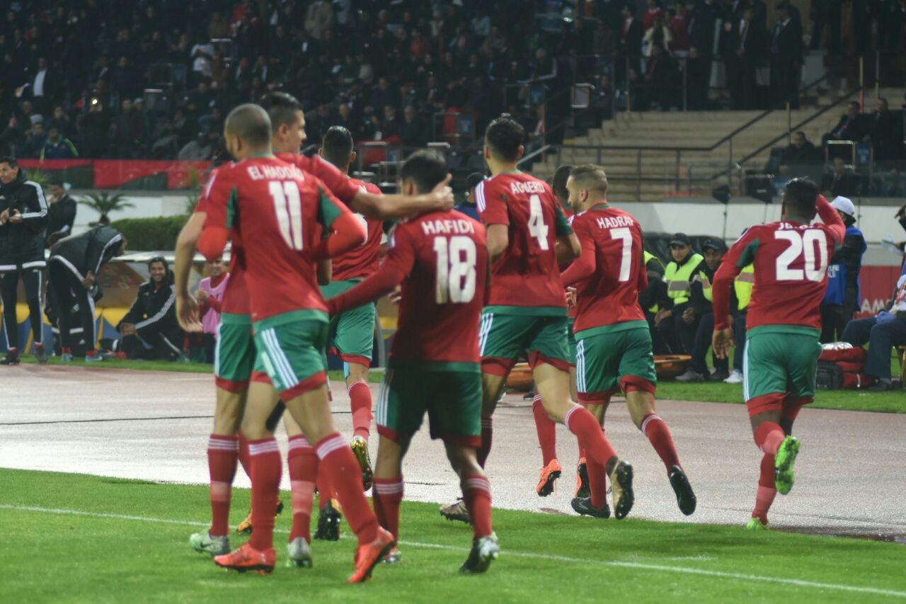 Le Maroc déroule face à la Mauritanie