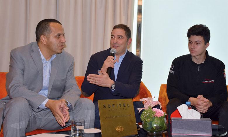 Michael Benyahia: «J'espère devenir le pilote  à part entière chez Venturi»