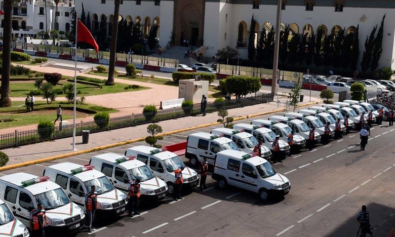 Remise d'un lot de véhicules à la préfecture de police de Fès