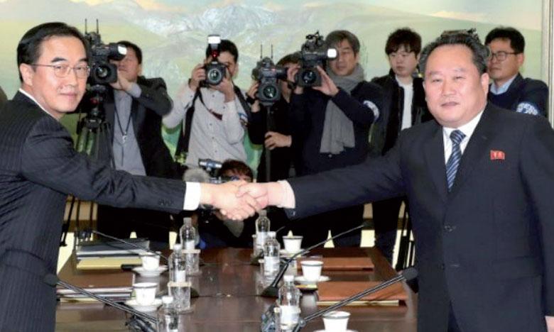 Séoul et Pyongyang acceptent de rétablir leur liaison  téléphonique militaire