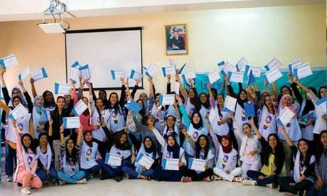 Des lycéennes marocaines primées par «DigiGirlz National Camp»