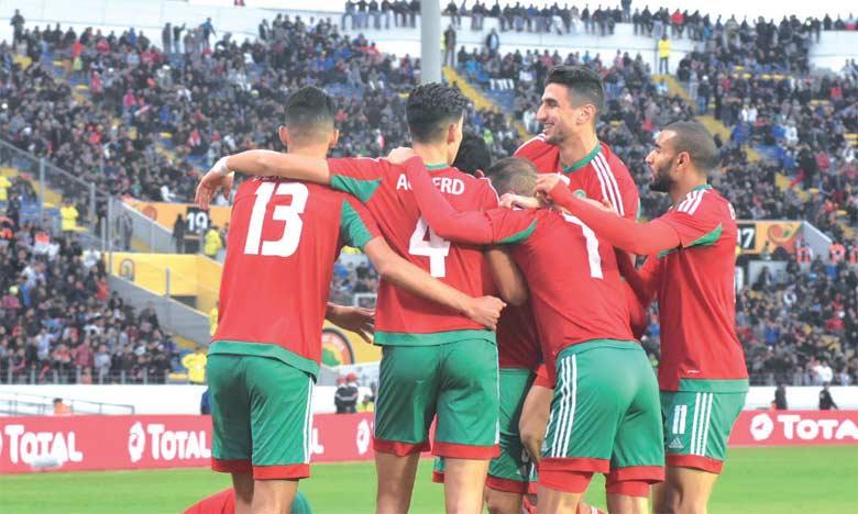 Le Maroc en quart de finale après sa victoire sur la Guinée